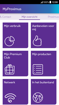 HTC Desire 825 - Applicaties - MyProximus - Stap 19
