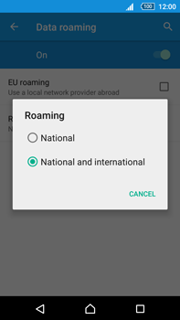 Sony Xperia Z5 Premium (E6853) - Internet - Disable data roaming - Step 8