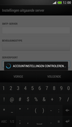 HTC One Mini - E-mail - Account instellen (IMAP zonder SMTP-verificatie) - Stap 17