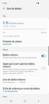 Samsung Galaxy S10 - Rede móvel - Como ativar e desativar uma rede de dados - Etapa 6