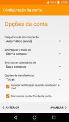 Alcatel Idol 4 VR - Email - Adicionar conta de email -  10