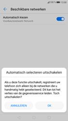 Huawei P9 Lite - Android Nougat - Netwerk - Handmatig een netwerk selecteren - Stap 7