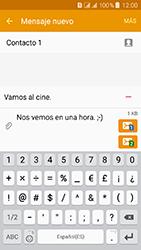 Samsung Galaxy J3 (2016) DualSim (J320) - Mensajería - Escribir y enviar un mensaje multimedia - Paso 16