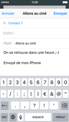 Apple iPhone SE - E-mails - Envoyer un e-mail - Étape 8