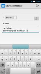 Bouygues Telecom Ultym 4 - E-mails - Envoyer un e-mail - Étape 10