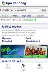 KPN Smart 300 - Internet - Populaire sites - Stap 7