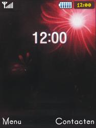 Samsung S5050 Allure S - SMS - Handmatig instellen - Stap 1