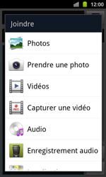 Samsung I8530 Galaxy Beam - MMS - envoi d'images - Étape 11