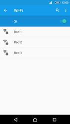Sony Xperia Z5 Compact - WiFi - Conectarse a una red WiFi - Paso 6