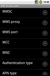 Alcatel OT-991 Smart - Internet - Manual configuration - Step 12
