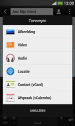 HTC Desire 500 - MMS - afbeeldingen verzenden - Stap 11