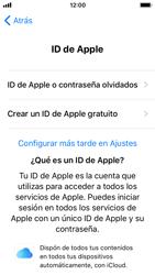 Apple iPhone SE iOS 11 - Primeros pasos - Activar el equipo - Paso 18