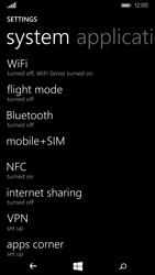 Nokia Lumia 735 - Internet - Enable or disable - Step 4