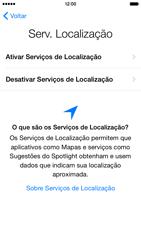 Apple iPhone iOS 8 - Primeiros passos - Como ativar seu aparelho - Etapa 12