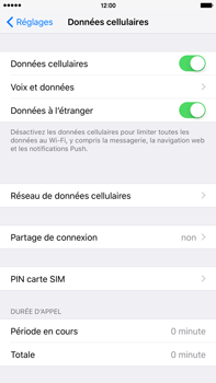 Apple iPhone 6s Plus - Premiers pas - Configurer l