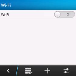 BlackBerry Q10 - Wifi - handmatig instellen - Stap 6