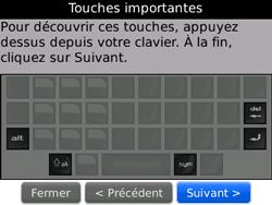 BlackBerry curve 3G - Premiers pas - Créer un compte - Étape 15