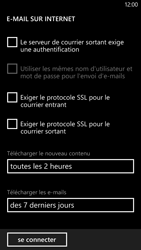 HTC Windows Phone 8X - E-mail - Configuration manuelle - Étape 15