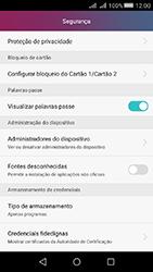 Huawei Y5 II - Segurança - Como ativar o código PIN do cartão de telemóvel -  4