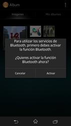 Sony Xperia Z - Bluetooth - Transferir archivos a través de Bluetooth - Paso 9