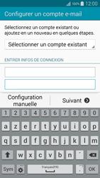 Samsung A300FU Galaxy A3 - E-mail - Configuration manuelle - Étape 7