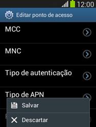 Samsung S5310B Galaxy Pocket Neo - Internet (APN) - Como configurar a internet do seu aparelho (APN Nextel) - Etapa 16