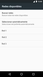 Motorola Moto G 3rd Gen. (2015) (XT1541) - Red - Seleccionar una red - Paso 8