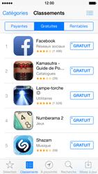 Apple iPhone 5 iOS 7 - Applications - Télécharger des applications - Étape 5