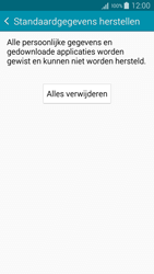 Samsung A300FU Galaxy A3 - Instellingen aanpassen - Fabrieksinstellingen terugzetten - Stap 7