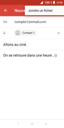 Alcatel 1X - E-mails - Envoyer un e-mail - Étape 10