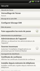 HTC One S - Sécuriser votre mobile - Activer le code de verrouillage - Étape 5