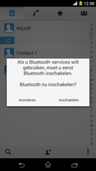 Sony Xperia Z1 4G (C6903) - Contacten en data - Contacten overzetten via Bluetooth - Stap 11