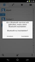 Sony C6903 Xperia Z1 - Contactgegevens overzetten - delen via Bluetooth - Stap 11