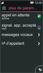 Nokia Asha 311 - Messagerie vocale - configuration manuelle - Étape 6