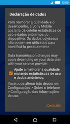 Sony Xperia M4 Aqua - Primeiros passos - Como ativar seu aparelho - Etapa 12