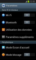 Samsung I8260 Galaxy Core - Internet - Configuration manuelle - Étape 4