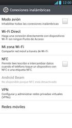 LG Optimus L9 - Mensajería - Configurar el equipo para mensajes multimedia - Paso 5