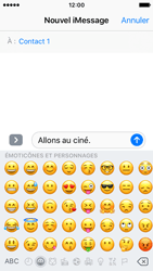 Apple iPhone SE - iOS 10 - iOS features - Envoyer un iMessage - Étape 13