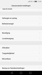 Huawei P9 - Toestel reset - terugzetten naar fabrieksinstellingen - Stap 5