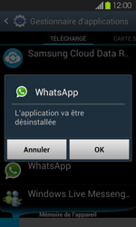 Samsung Galaxy S2 - Applications - Supprimer une application - Étape 7