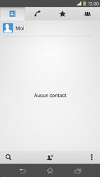 Sony Xpéria M2 - Contact, Appels, SMS/MMS - Ajouter un contact - Étape 5