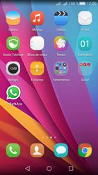 Huawei Y5 II - Aplicações - Como configurar o WhatsApp -  4