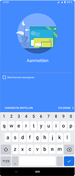 Sony Xperia 1 - E-mail - handmatig instellen (outlook) - Stap 9