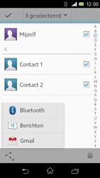 Sony C1905 Xperia M - Contactgegevens overzetten - delen via Bluetooth - Stap 9
