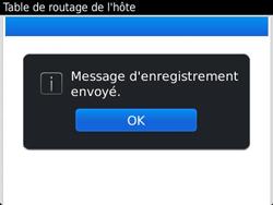 BlackBerry 9360 Curve - Paramètres - Reçus par SMS - Étape 8