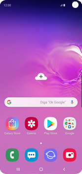 Samsung Galaxy S10 - Rede móvel - Como selecionar o tipo de rede adequada - Etapa 1