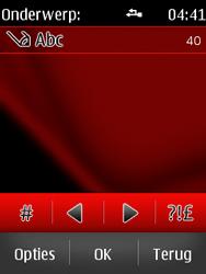 Nokia Asha 300 - MMS - Afbeeldingen verzenden - Stap 11