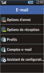 Samsung S5620 Monte - E-mail - Configuration manuelle - Étape 6
