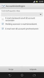 Sony C5303 Xperia SP - E-mail - Handmatig instellen - Stap 16