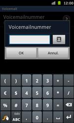 Samsung I9070 Galaxy S Advance - Voicemail - Handmatig instellen - Stap 7